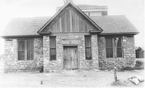 Rock School Opened in November, 1888